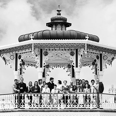 Brighton Bandstand Summer Wedding