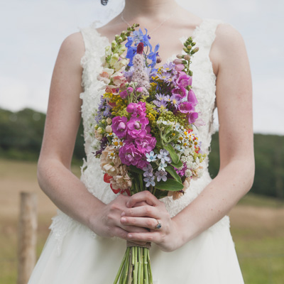 Farm Wedding at Upwalthams Barn in West Sussex