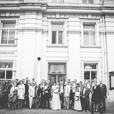 Kelly & Liams Brighton Town Hall Wedding.