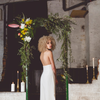 Alternative, Urban Inspiration Styled Wedding Photoshoot in Brighton