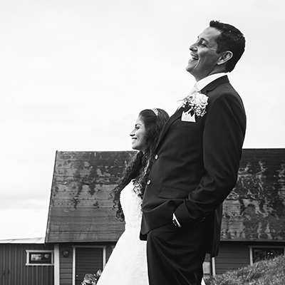 Rocio & Julians stunning wedding in Torekov, Sweden.