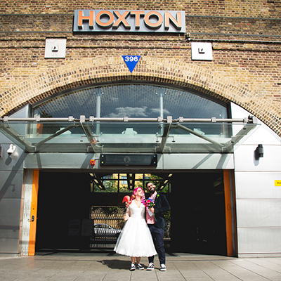 Imogen and Marlon. Hoxton Hall London Wedding.